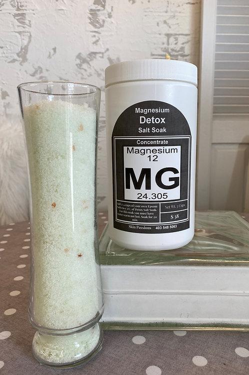 Detox Magnesium Salt Soak