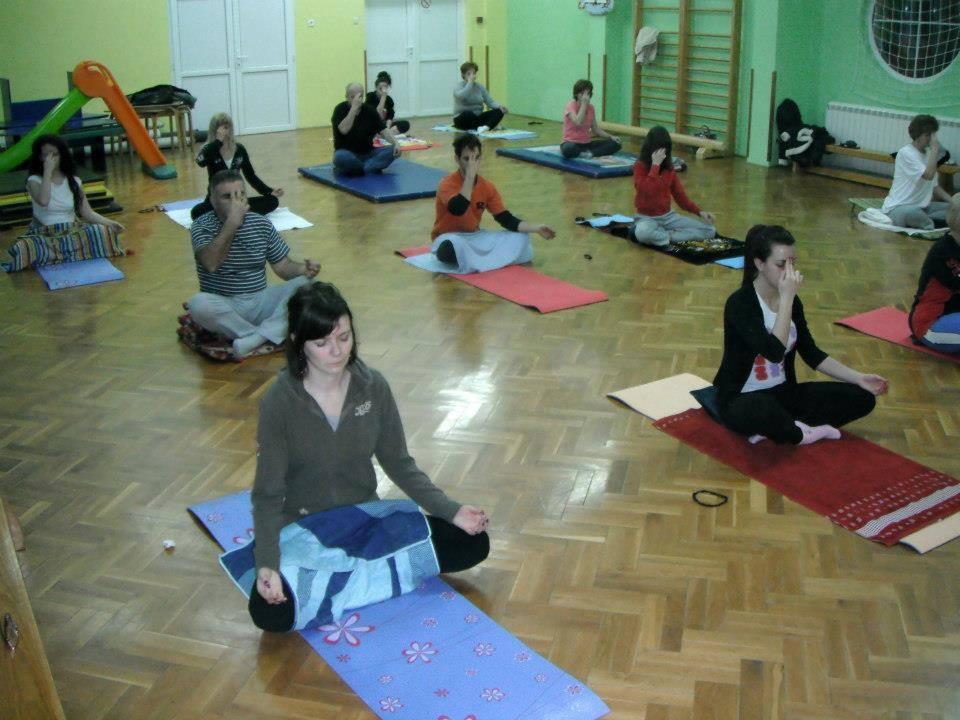 Vežbamo jogu u Futogu