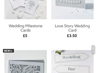 Wedding bits and bobs