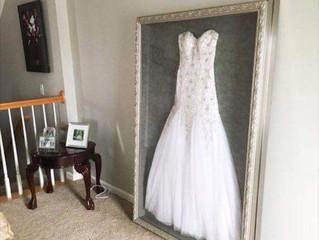 Frame your wedding dress!?