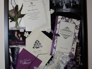 wedding memory box.....with a twist