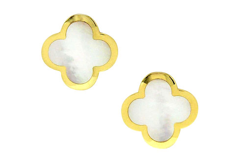 Van Cleef and Arpels pure alhambra earrings