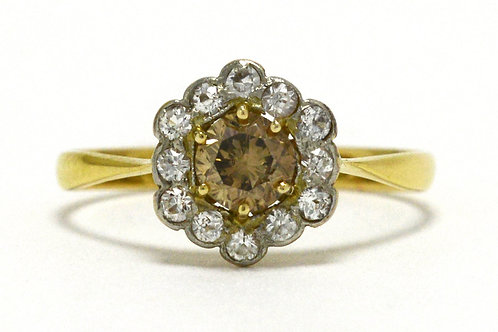 The Frisco Victorian diamond engagement ring