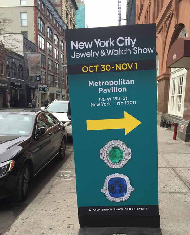 Bella Rosa Galleries attends NYC Jewelry & Watch Show