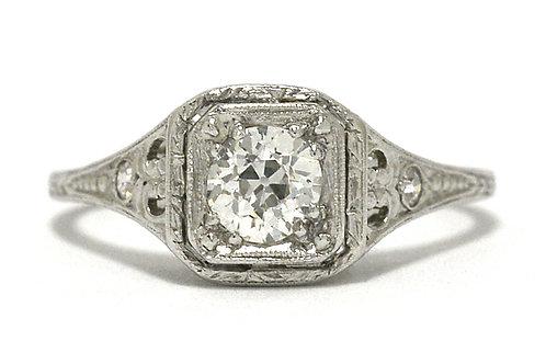 Diamond Solitaire Art Deco