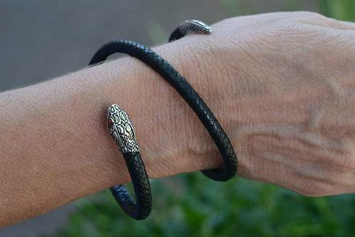 Baby Snake Leather Snake Bracelet