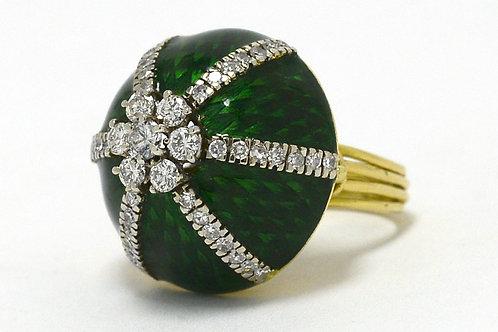 Italian dome ring