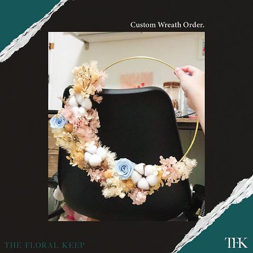 Custom Wreath 30cm