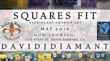 """Squares Fit"" Plexiglass Shadow Art Exhibit"