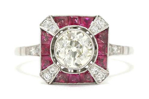 Carpinteria vintage engagement ring