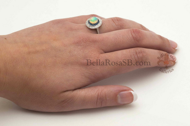 October Birthstones : Tourmaline and Opal