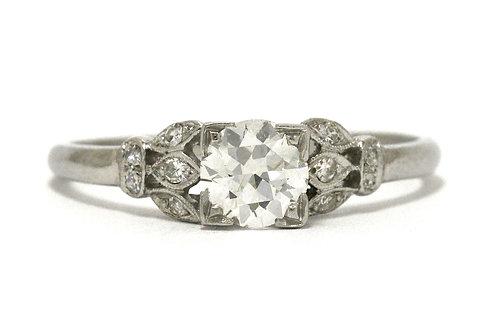 Edwardian diamond solitaire ring