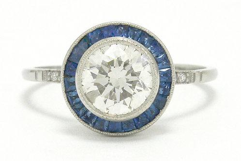 Ventura 1.50 carat round diamond engagement ring