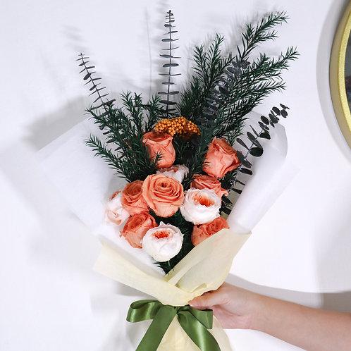 Bunch of Roses In Orange
