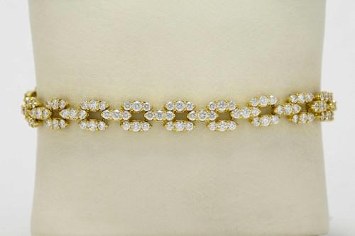 2d8c3a3aad3 oval link diamond bracelet Philadelphia modernist bracelet