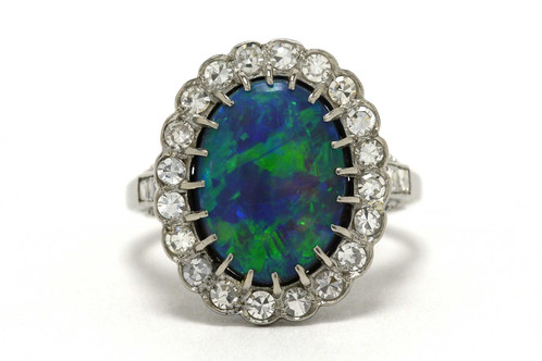 ring img rings black engagement diamond opal and
