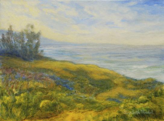 Lizabeth Madal, water color, art exhibit, santa barbara, central coast, california, art gallery