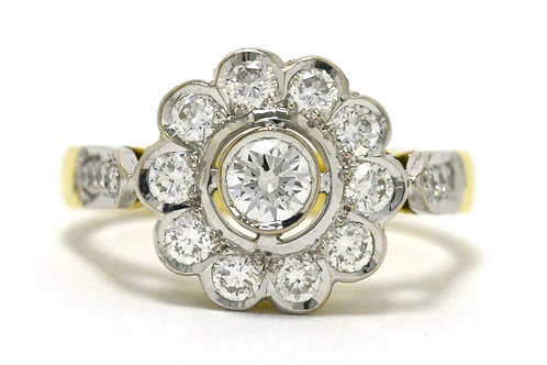 The San Luis Obispo vintage engagement ring
