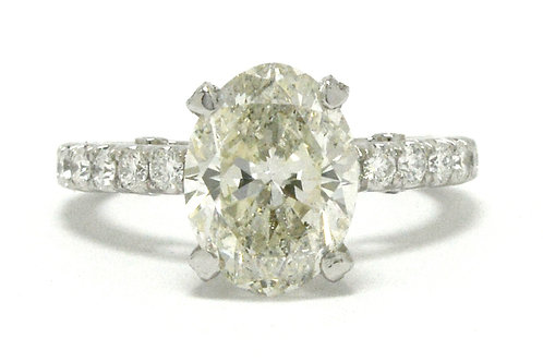 Beverly Hills solitaire engagement ring
