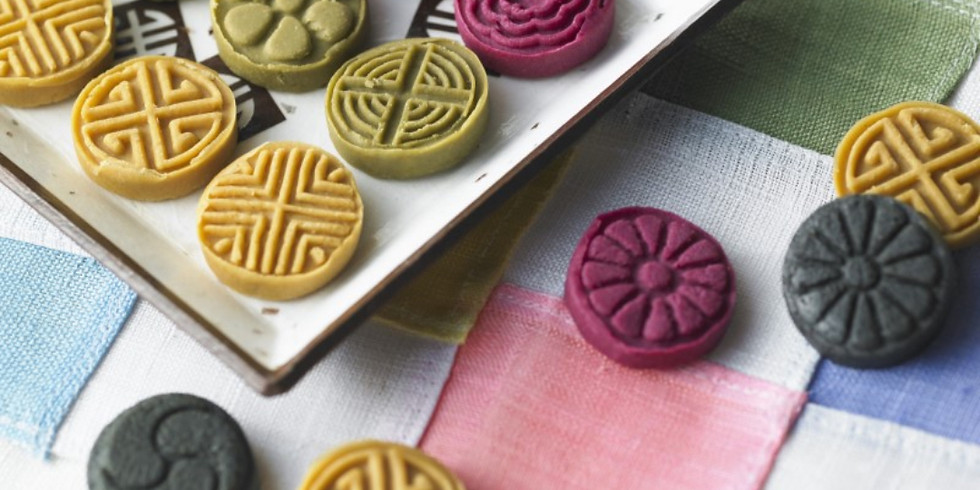 Experience the Korean tea ceremony and make traditional cakes (dasik).