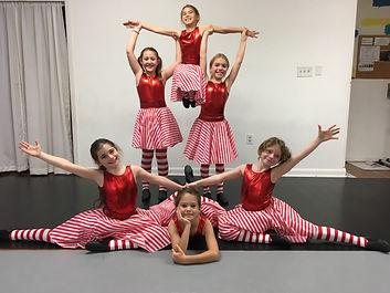 Momentum DanceTheatre young dancers