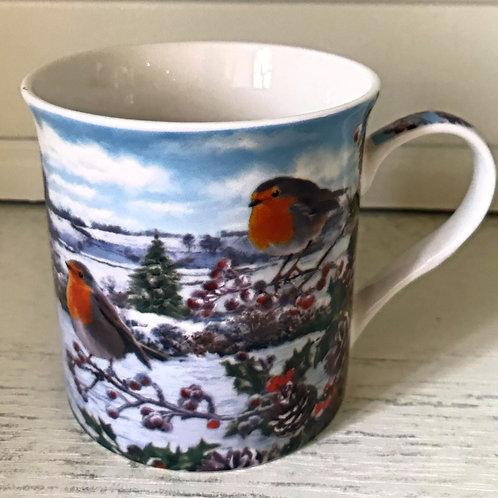 Tasse Christmas Robin