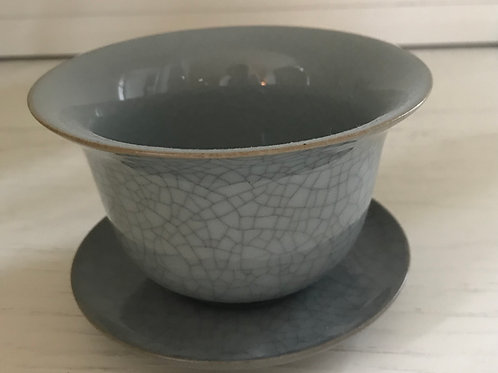 Teeschale Grey