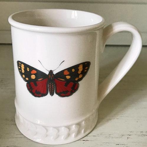 Tasse Red Butterfly