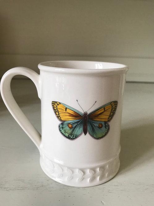Tasse Yellow Butterfly
