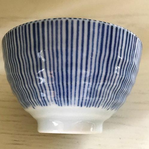 Teeschale Blue Stripes