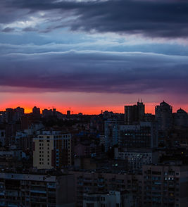 beautiful red sunset in Kiev.jpg