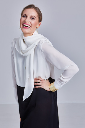 EMMA dress - play with your shawl