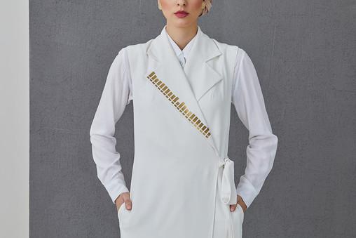 ARIANA - Wrap long vest