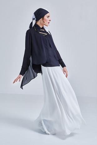 EMMA sukně a halenka - new-yorský vzhled