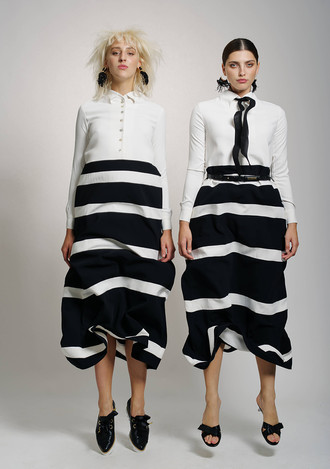 LUCIE- STRIPED DRESS