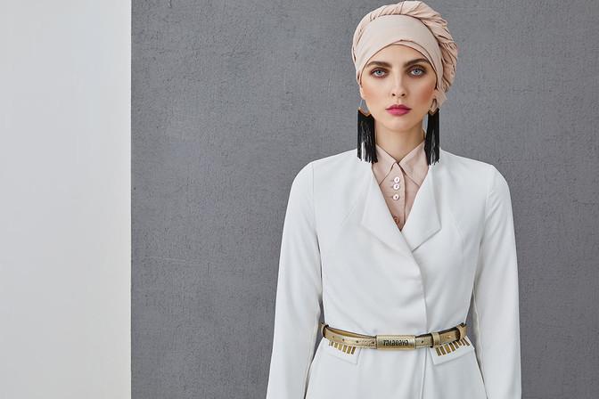 ALIA - Long coat with long sleeves