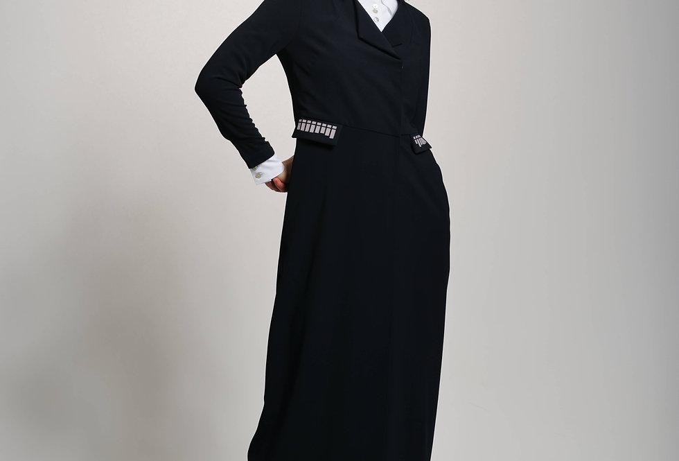 Light coat ALIA black