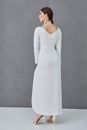 CHARLOTTE - šaty s rozparkem