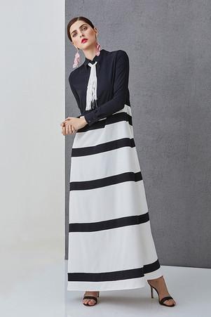 LUCIE DIVERSE - Pruhované šaty