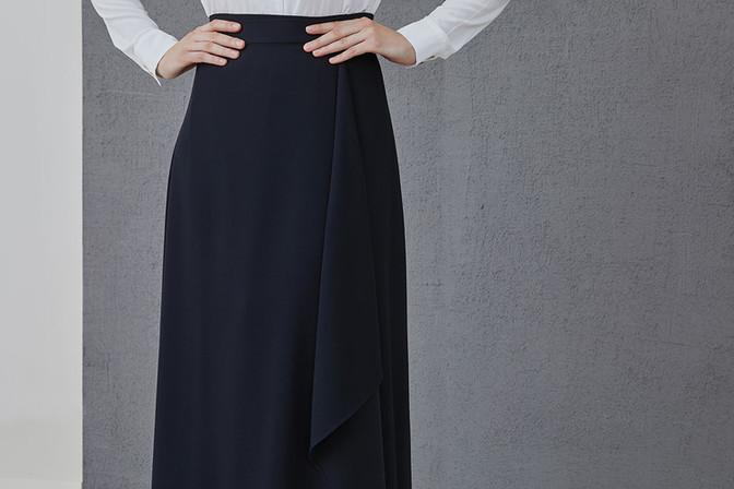 ARETHA - wrap skirt