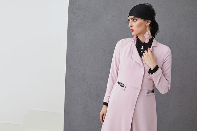 ALIA - Dlouhý kabátek