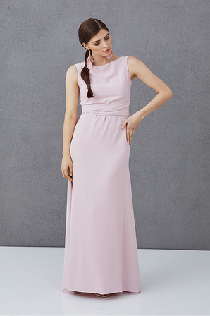 KATE - long dress with the bow