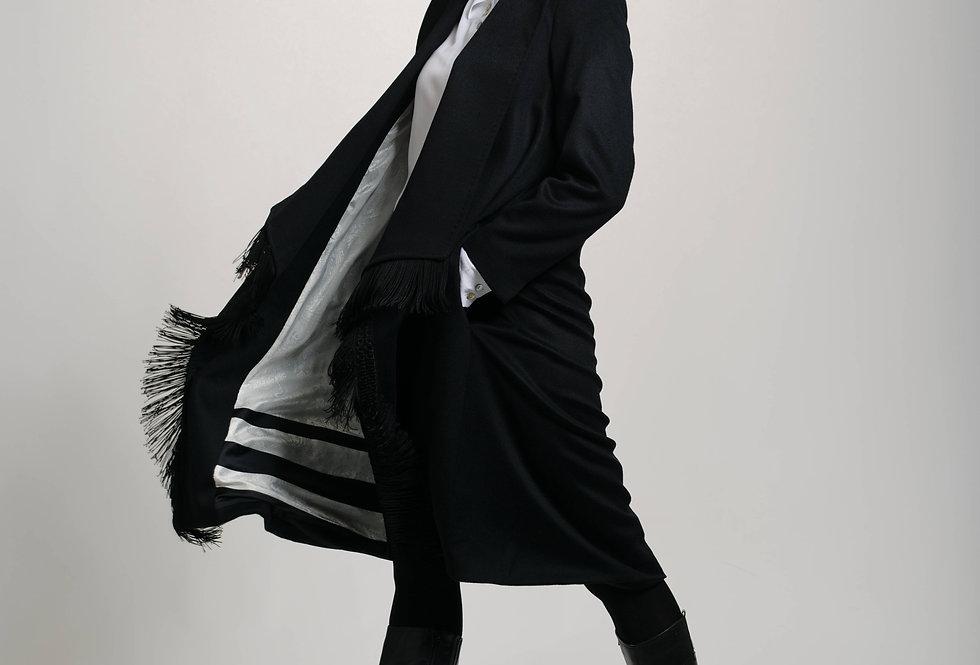 Luxury wool-cashmere coat GINNY