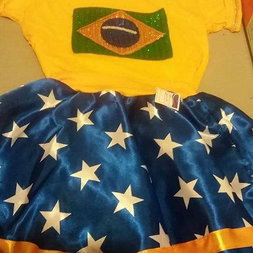 Figurino infantil Brasil