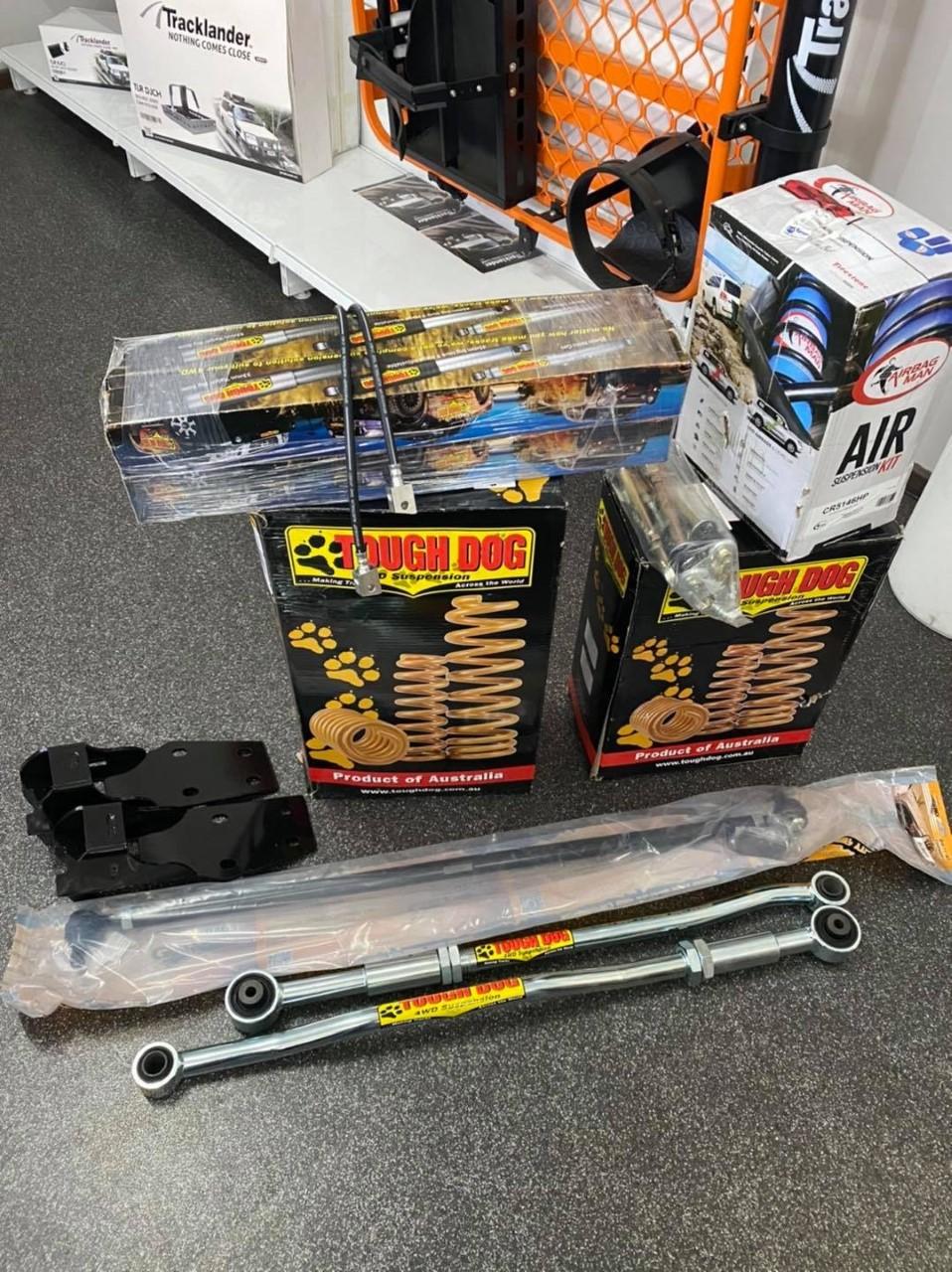 3inch Tough Dog Lift Kit for a GU Patrol