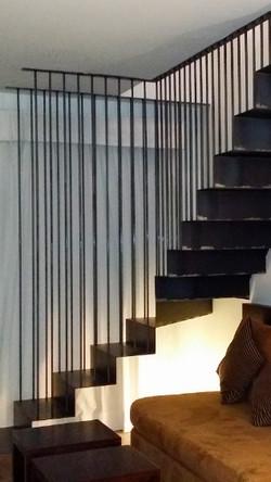 Escaleras a medida en hierro