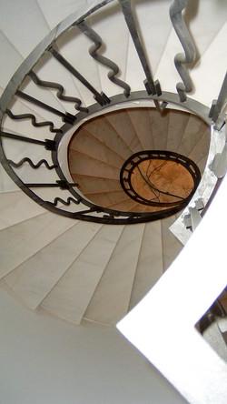 Escaleras de hierro, Mallorca