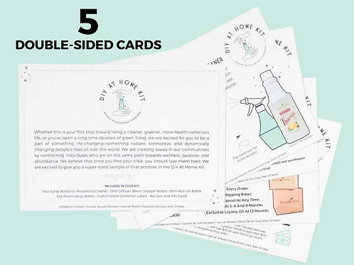 Welcome Kit Card Packs