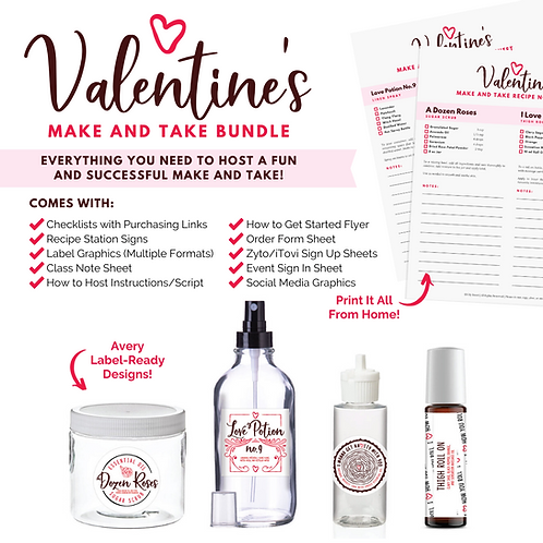 Valentine's Make and Take Bundle