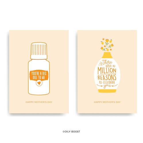 Essential Oil Mother's Day Cards - Use coupon code 'MOM'